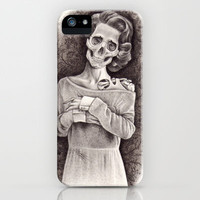 Yours Sincerely, Wasting Away iPhone & iPod Case by KatePowellArt