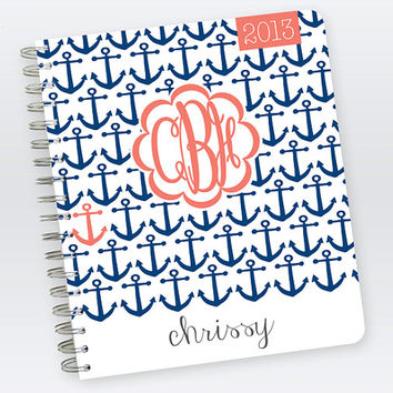 2013 & 2014 Student Planner by PlumPaperDesigns on Etsy