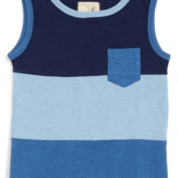 Peek Pieced Colorblock Tank (Toddler Boys, Little Boys & Big Boys) | Nordstrom