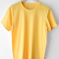 Basic Tee - Yellow