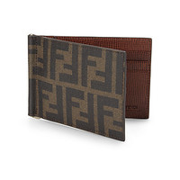 Logo Money Clip Wallet