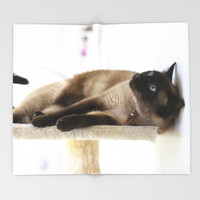 What's Up? Throw Blanket by Theresa Campbell D'August Art
