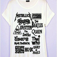 Greatest Old Bands T-Shirt