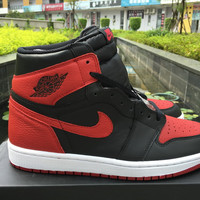 "Air Jordan 1 Retro OG High ""Banned"" Men Women Sneaker"