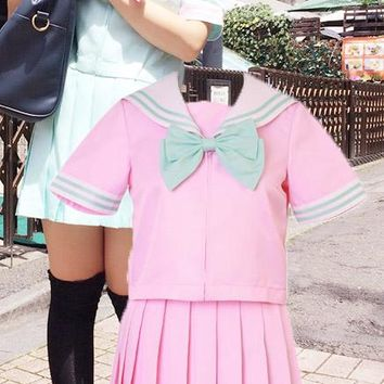 Pink Sailor Uniform (M)