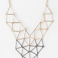 Urban Outfitters - Cutout Geo Necklace