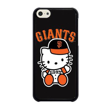 HELLO KITTY SAN FRANCISCO GIANTS iPhone 5C Case Cover