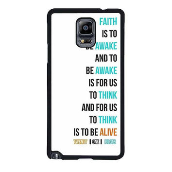 twenty on pilots car radio lyrics white cover samsung galaxy note 4 note 3 cover cases