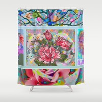 Spring Medley Shower Curtain by Macsnapshot