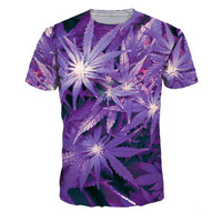 Purple Marijuana T-shirt