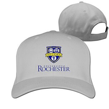 ZULA Vintage Adult University Of Rochester U Of R Summer Headwear Ash