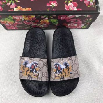 Gucci Tiger Slippers