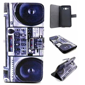 Retro Classic Radio Leather creative case Cover Wallet for iPhone & Samsung Galaxy