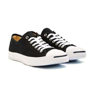 DCKL9 Converse Jack Purcell Jack Canvas Trainer Black