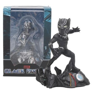 Superhero Black Panther Action Figures The Avengers 3 Infinity War Collectible Model Toy Doll 8cm