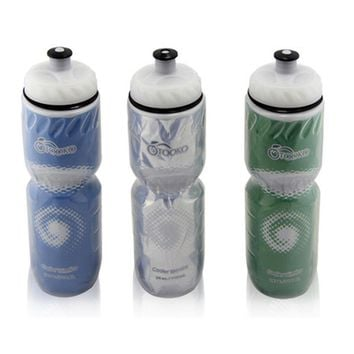 Portable 710ml Outdoor Insulated Plastic Water Bottle Bicycle Cycling Sports Water Cup