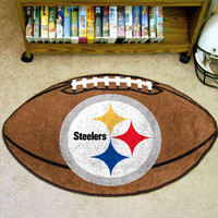 "NFL - Pittsburgh Steelers Football Rug 22""x35"""
