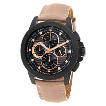 Michael Kors Ryker Chronograph Black Dial Mens Watch MK8520