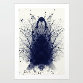 ANCESTORS Art Print by TreeomStudio