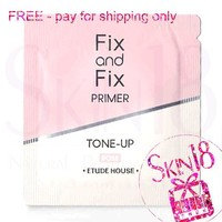 Freebies - Etude House Fix and Fix Primer Tone-up - Rose (Sample Pack)