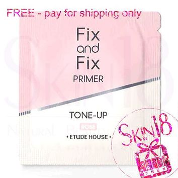 Freebies - Etude House Fix and Fix Primer Tone-up - Rose (Sample Pack)  *exp.date 01/20