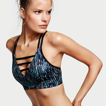 Strappy V-neck Sport Bra - Victoria's Secret Sport - Victoria's Secret