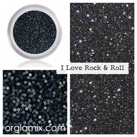 I Love Rock 'N' Roll Glitter Pigment