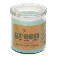Green Garden Soy Candle Jar