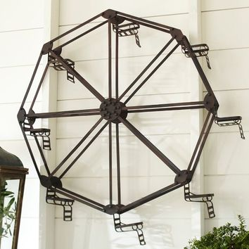 SCULPTURAL FERRIS WHEEL