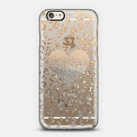 GOLD HEART LEO transparent for iPhone 6 iPhone 6 case by Monika Strigel | Casetify