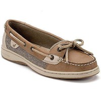 Women's Angelfish Slip-On Boat Shoe in Linen Oat by Sperry