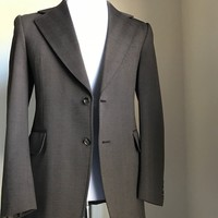 New PKZ Men's Sport Coat Jacket, Blazer Brown 38 US ( 48 Eur )
