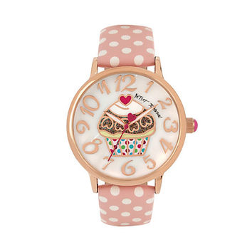 CUPCAKES AND GINGHAM WATCH: Betsey Johnson