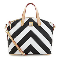 Dooney & Bourke Chevron Large Gabriella Satchel