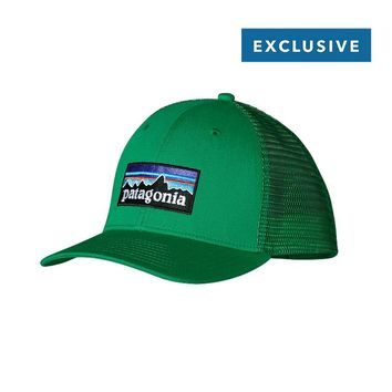 Patagonia LoPro Trucker Hat | Fitz Roy P-6: Tumble Green