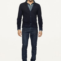 Pima Shawl-Collar Cardigan