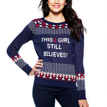 This Girl Still Believes Sweater