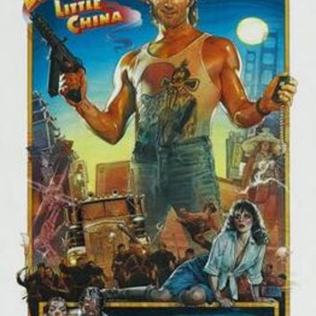 Big Trouble In Little China Movie Poster 11x17 Mini Poster