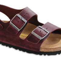 Milano Zinfandel Oiled Leather Sandals | Birkenstock USA Official Site