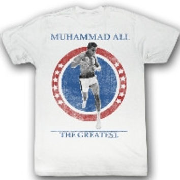 Cross the Line Muhammad Ali Tee Shirt