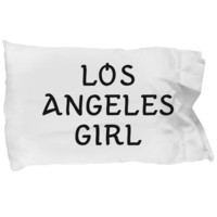 Los Angeles Girl - Pillow Case