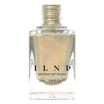 ILNP Cozy Mittens - Light Grey Holographic Nail Polish