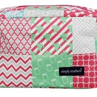 Simply Southern Collection Cosmetic Bag in Pink UM613-PINK