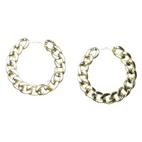 Large Chian Link Hoop Earring | Shop Jewelry at Wet Seal