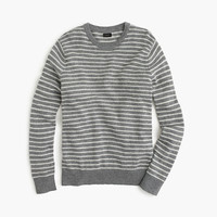 J.Crew Mens Slim Softspun Sweater In Ditty Stripe