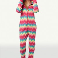 Rainbow Monster Hooded Onsie PJs | tarea | rue21