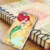 The Little Mermaid Voice Ariel iPhone 6 Plus Case