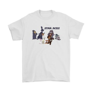 SPBEST Star Aces Star Wars And Winnie The Pooh Shirts