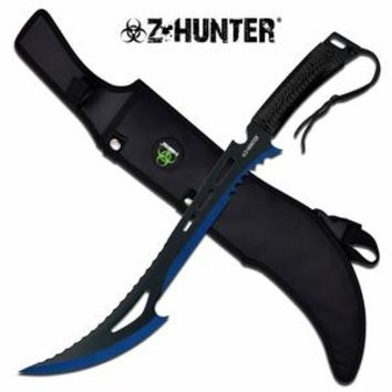 "Z-Hunter ""Renegade Killer"" Blue Machete"