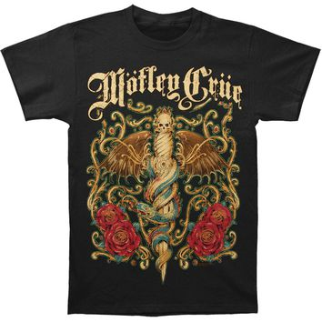 Motley Crue Men's  Exquisite Dagger T-shirt Black